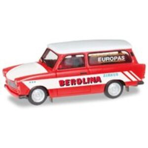 Herpa H0 Trabant 601 Universal Zirkus Berolina