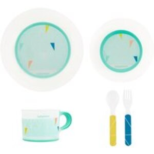 babymoov Geschirr-Set rutschfest blau