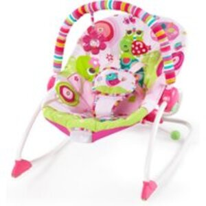 Babywippe Taggies rosa
