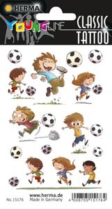 Kindertattoos - Fußball