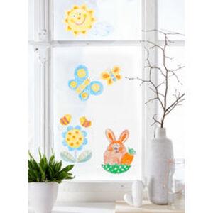 Fenster-Malvorlagen Frühling