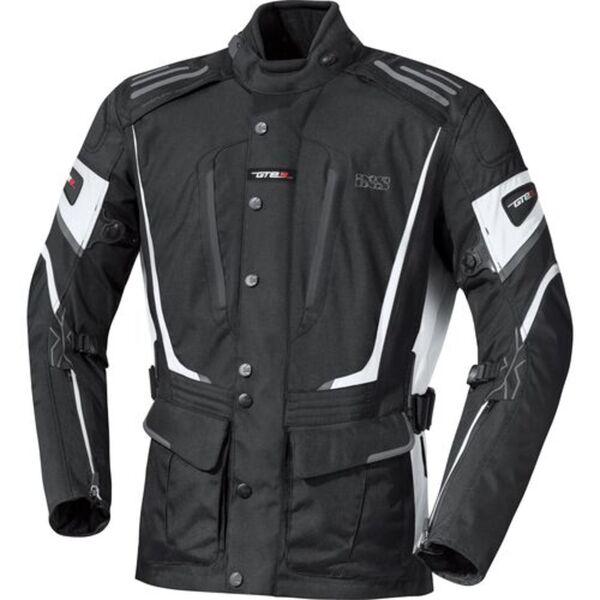 IXS            X-Jacke Powell schwarz/weiß