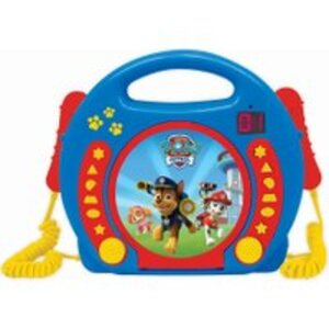 CD Player mit Mikrofon Paw Patrol