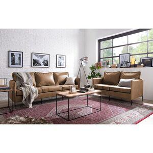 Sofa Southwell (3-Sitzer) - Antiklederlook - Cubanit, ars manufacti