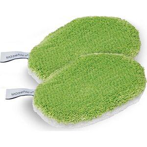 Waschies Baby-Pads 2er-Set 15x10,5cm grün/weiß