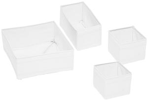 Aufbewahrungsboxen-Set Tina Weiß 4er Set