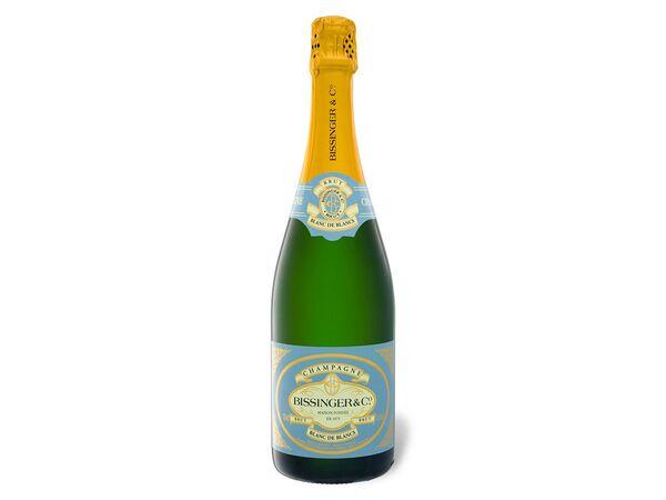 Bissinger Champagner Blanc de Blancs brut, Schaumwein