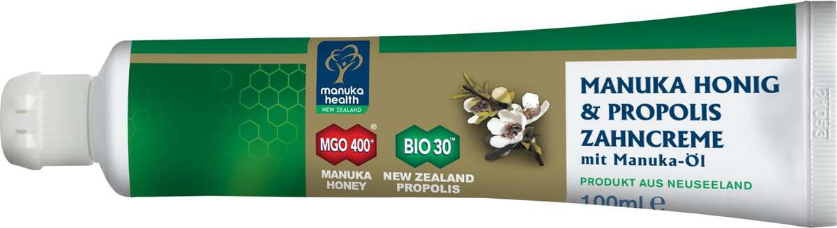 Bild 2 von Manuka Health Manuka Honig & Propolis Zahncreme