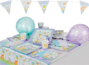 Partyset Woodland Welcome, 49-tlg.
