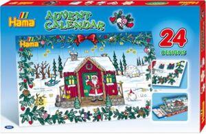HAMA 3040 Bügelperlen-Adventskalender, 5.000 midi-Perlen & Zubehör