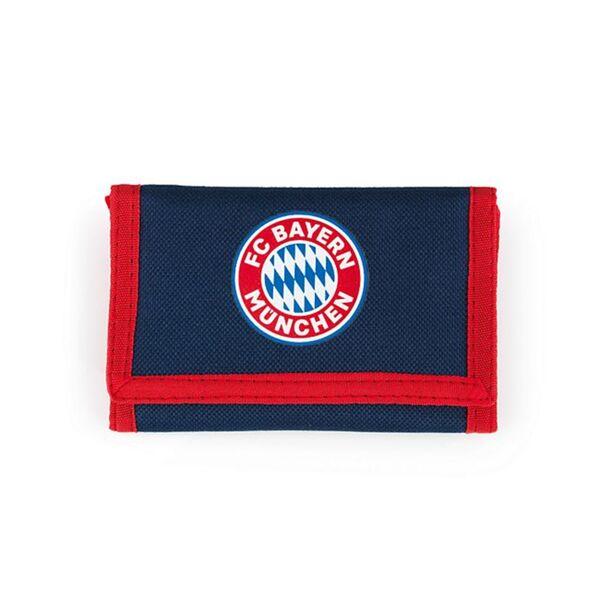 FCB Geldbörse Mia san Mia blau/rot mit Logo
