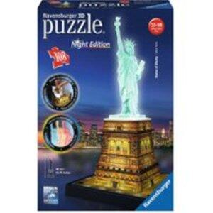 Ravensburger Puzzle 3D Freiheitsstatue mit LED