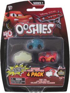 Ooshies Sammelfiguren Stifteaufsatz/Pencil-Topper Cars 3, 4 Stück
