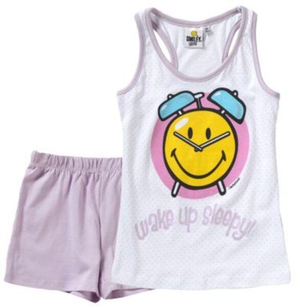 SMILEY WORLD Schlafanzug Gr. 116 Mädchen Kleinkinder