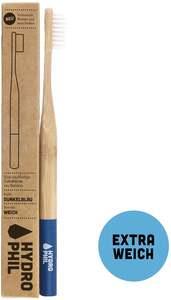 HYDROPHIL Nachhaltige Zahnbürste dunkelblau extra weich