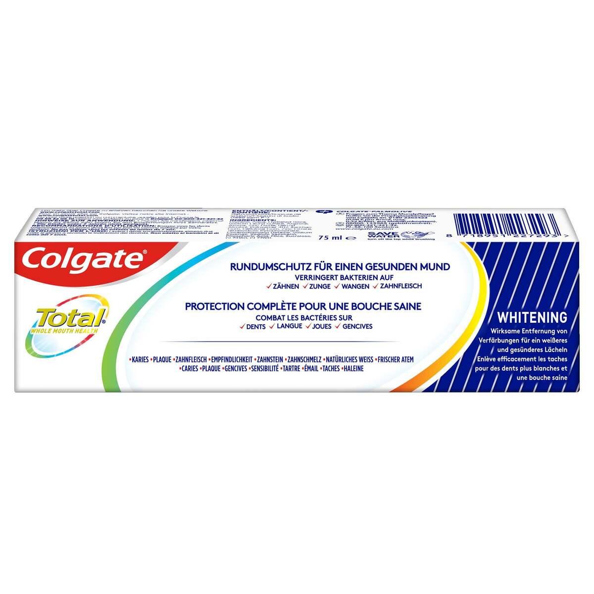 Bild 2 von Colgate Total Plus Gesundes Weiß Zahnpasta 2.65 EUR/100 ml