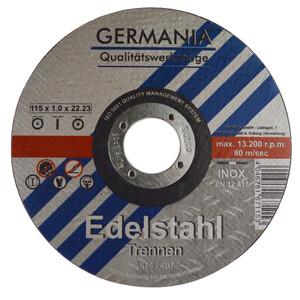 Trennscheibe Edelstahl 115x1x22,23mm 6Stück Trennen Edelstahl Metall