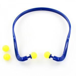 Gehörschutzbügel Ersatzstopfen blau/gelb Oakwood Gehörschutzstopfen Ohrenstöpsel