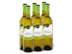 6 x 0,75-l-Flasche Weinpaket Montejanu Vermentino di Sardegna DOP, Weißwein