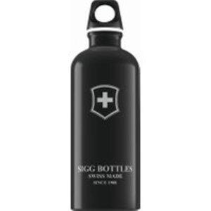 SIGG Trinkflasche Swiss Emblem Black 0.6l
