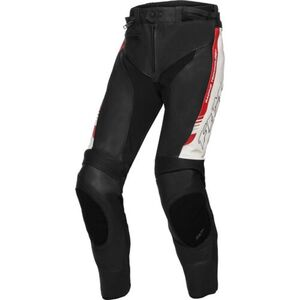 FLM            Sports Leder Kombihose 2.1 schwarz/weiß/rot