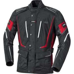 IXS            X-Jacke Powell schwarz/rot/weiß