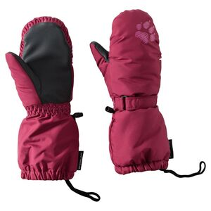 Jack Wolfskin Handschuhe Kinder Stormlock Paw Mitten Kids 92 rot