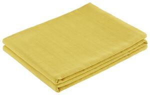 Überwurf Solid One Gelb 140x210 cm
