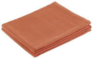Überwurf Solid One Orange 140x210 cm