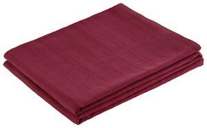 Überwurf Solid One Rot 140x210 cm
