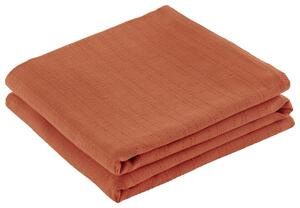 Überwurf Solid One Orange 240x210 cm