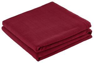 Überwurf Solid One Rot 240x210 cm