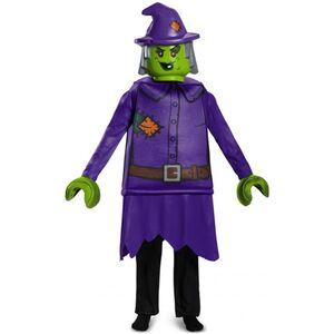 LEGO® Kostüm - Hexe - Deluxe-Serie - für Kinder - 4-teilig - verschiedene Größen