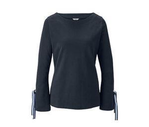 Sweatshirt mit Volantärmeln