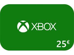 Xbox Code über 25 €
