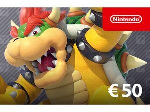 Digitaler Code für - Nintendo eShop-Guthaben: 50€