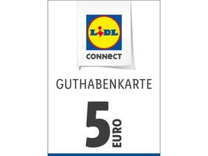 Lidl Connect Guthabenkarte über 5€