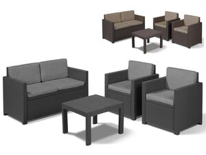 Allibert Gartenmöbel Lounge Set Victoria Premium