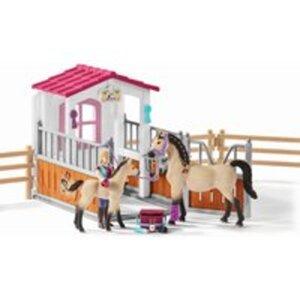 Schleich 42369 Pferdebox mit Zubehör