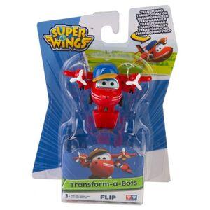 Super Wings - Mini Transform-a-Bots - Flip - ca. 5 cm