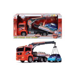 Dickie Abschleppwagen mit Kran und Fahrzeug