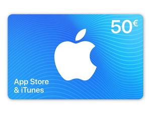 Geschenkkarte für App Store & iTunes über 50€