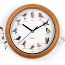 Bild 1 von EASYmaxx Wanduhr mit Vogelstimmen