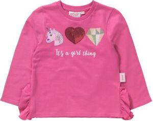 emoji Sweatshirt mit Volants Gr. 152/158 Mädchen Kinder