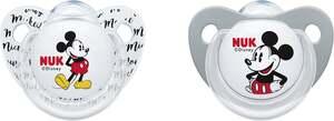 NUK Beruhigungssauger Trendline Silikon Disney Mickey Mouse 0-6 Monate