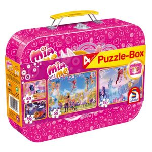 Puzzle-Box - Mia and Me - 4-in-1