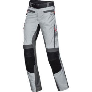FLM            Touren Damen Leder-Textilhose 4.0 grau/schwarz