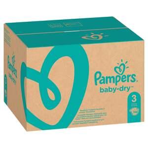 Pampers Windeln baby-dry Gr. 3 (6-10 kg) Monatsbox