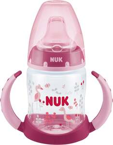 NUK First Choice Trinklernflasche, rosa