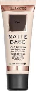 Makeup Revolution Matte Base Make Up F18 21.39 EUR/100 ml